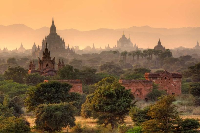 Fairy Tales Bagan Myanmar Ruins